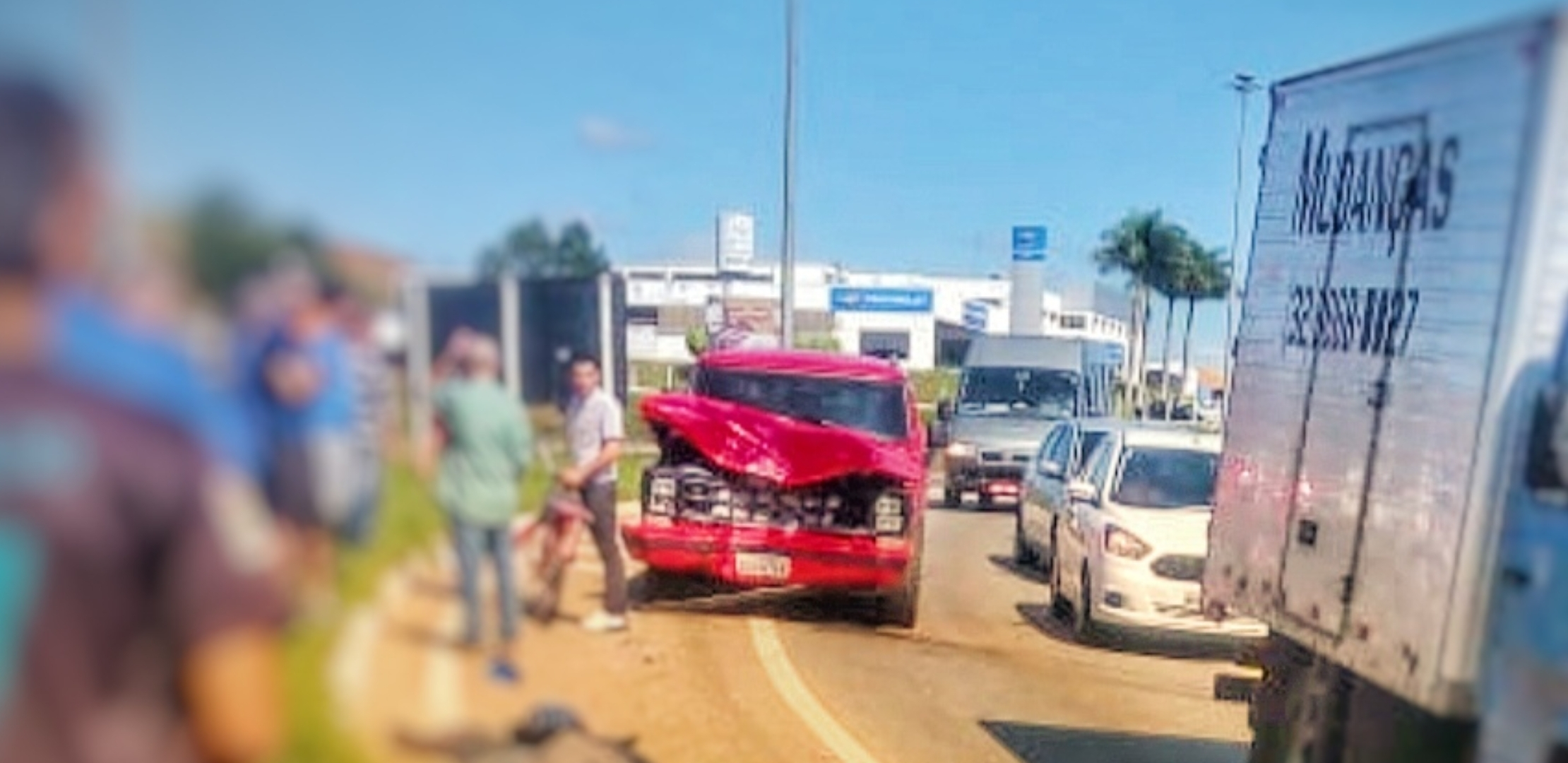 Em Pouso Alegre: Motociclista morre e garupa fica gravemente ferido em acidente hoje