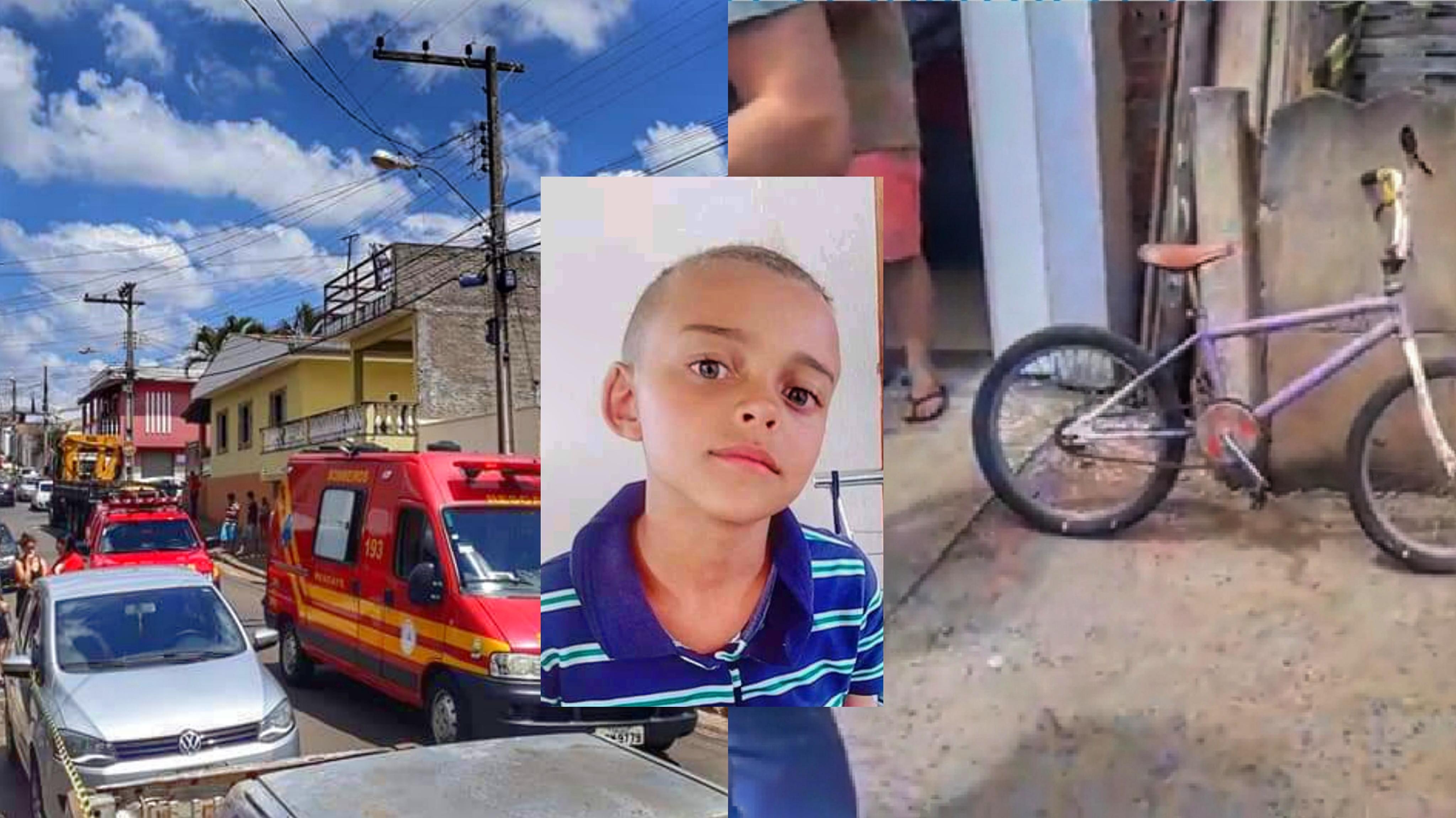 Na Região: Criança de 9 anos morreu atropelada por caminhão hoje